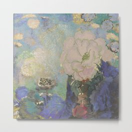 A remembrance of Redon- Purple Haze Metal Print