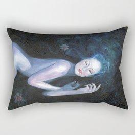 Waterlily Girl Rectangular Pillow