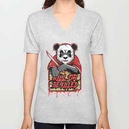kill or be killed Unisex V-Neck