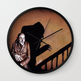 Nosferatu - A Symphony of HORROR! Wall Clock