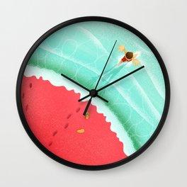 Summer Taste Wall Clock