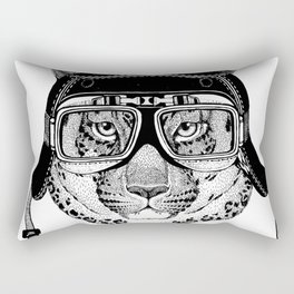Leopard Speed Rebel Rectangular Pillow