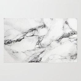 Greyish White Marble Rug