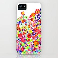 Flower Fields Tangerine iPhone (5, 5s) Slim Case