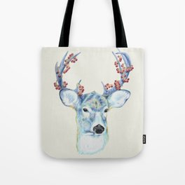 Christmas Deer - Forest animals series Tote Bag