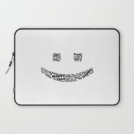 Smiley Face emoticon Laptop Sleeve