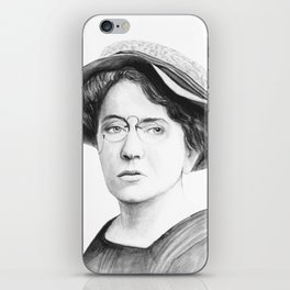 Emma Goldman iPhone Skin