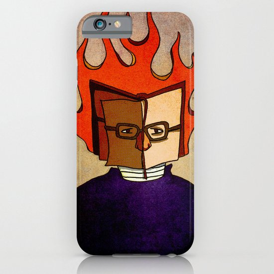 Prophets of Fiction - Ray Bradbury /Fahrenheit 451 iPhone & iPod Case