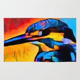 Kingfisher 2 Rug