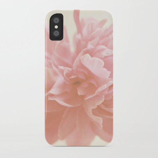 Peony Bloom iPhone Case