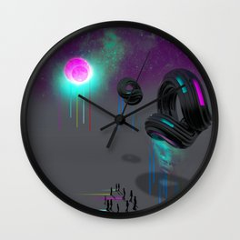 """THE ARRIVAL"" <Everydays> Wall Clock"