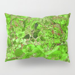Marble Emerald Green Pillow Sham