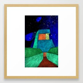 The Entry Framed Art Print