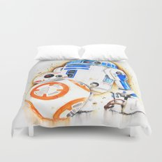 R2d2&BB8 Duvet Cover