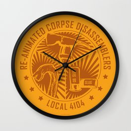 RCD Union Seal Wall Clock