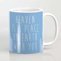 heaven Mugs featuring Heaven by Jeremy Jon Myers