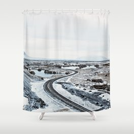 Near Myvatn Shower Curtain