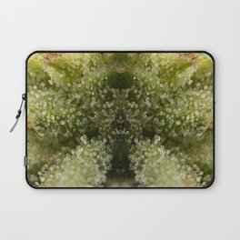 Cannabis Trichome Symmetry Abstract Laptop Sleeve