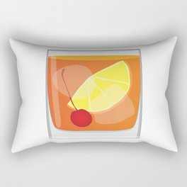 Old Fashioned Cocktail Rectangular Pillow