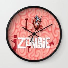 I Love iZombie Wall Clock