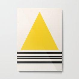 Code Yellow 002 Metal Print