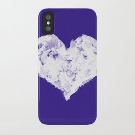 Feel in Watercolour: Violet iPhone Case