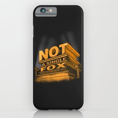 Not a single fox was given that day iPhone 6s Slim Case