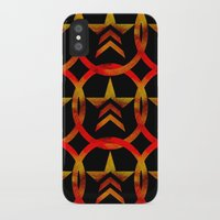 mass effect iPhone & iPod Cases featuring Mass Effect Renegade by foreverwars