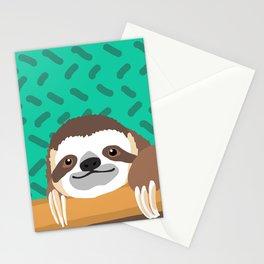 Brad Sloth Stationery Cards