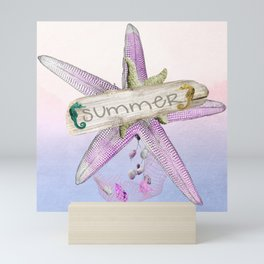 Summer Starfish Mini Art Print