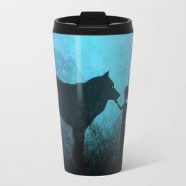 Wolf Whisperer Travel Mug