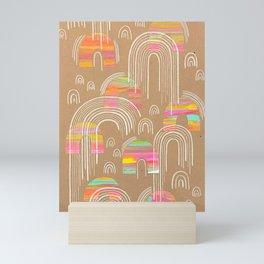 Secondary Rainbow Mini Art Print