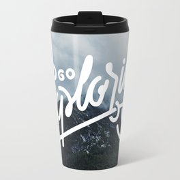 Go Exploring Travel Mug