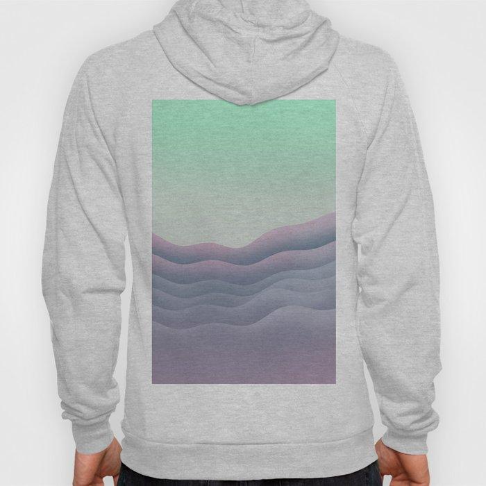 iso mountain sunset Hoody