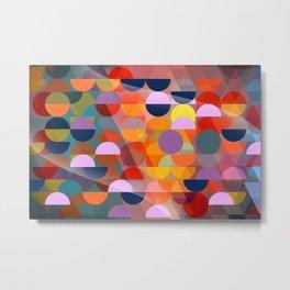 love pattern Metal Print