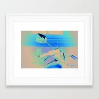 moto Framed Art Prints featuring Moto by Melissa Ford