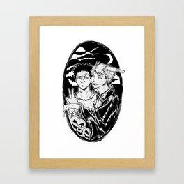 IWAOI Halloween version Framed Art Print