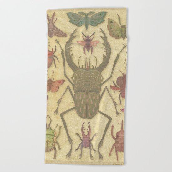 Entomologist's Wish II Beach Towel