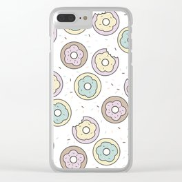 Doughnuts & Sprinkles Clear iPhone Case