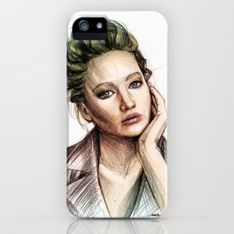 Jennifer Lawrence iPhone Case