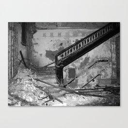 Elegance, urban exploration Canvas Print