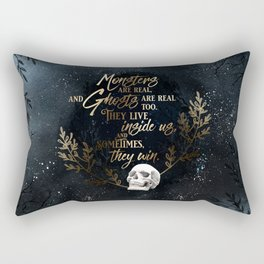 S King - Ghosts & Monsters Rectangular Pillow