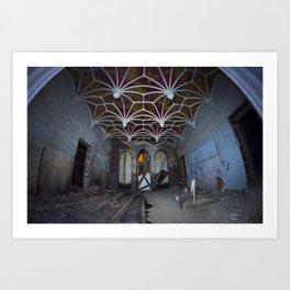 Goutte II // Dripping II - Château Miranda Art Print