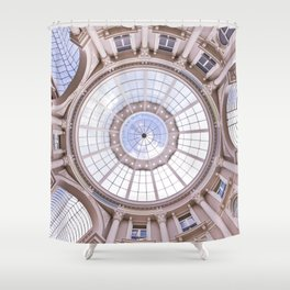 Along The Passage And The Spectacular Dome Shower Curtain