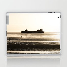 Watching the ships go by Laptop & iPad Skin