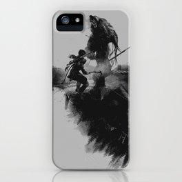 Lara Croft v2 iPhone Case