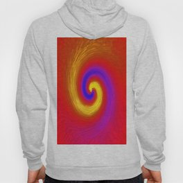 Whirlpool of paint Hoody
