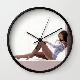 Impressionist Pin up Wall Clock