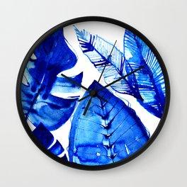 Jungle Blues Wall Clock