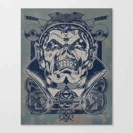 Classic Monsters Series: Dracs Canvas Print